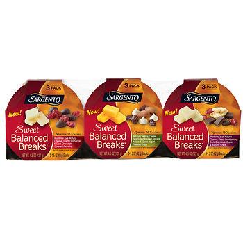 Sargento sweet balanced breaks price at BJs wholesale club