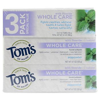 tom's of maine toothpaste price at BJS