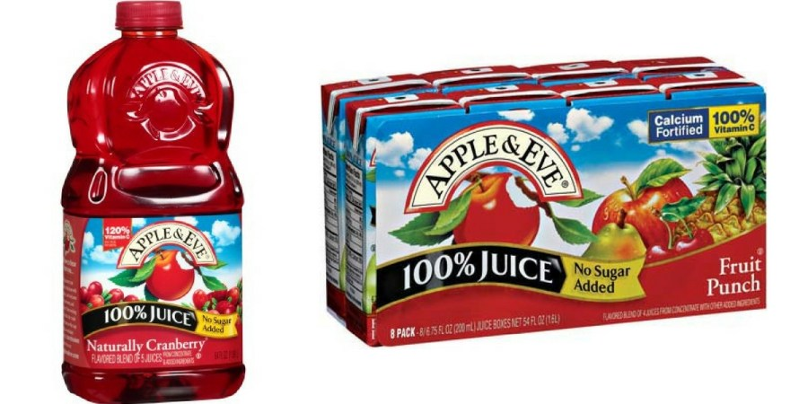 apple and eve juice