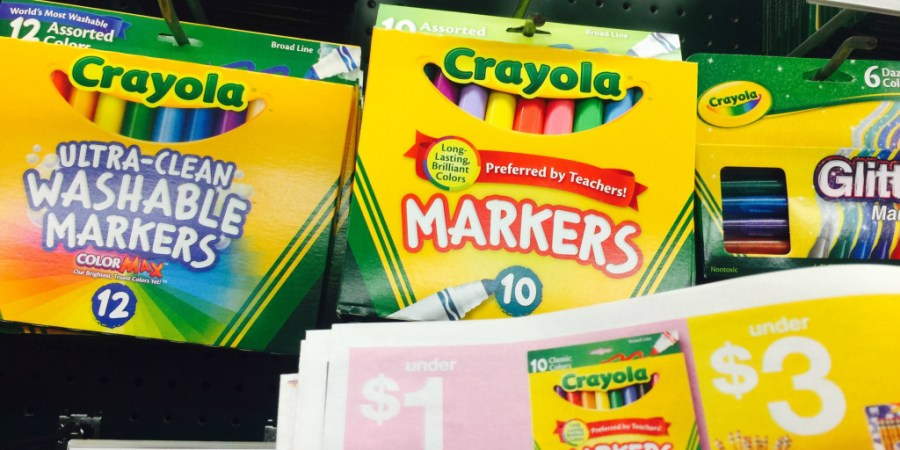 crayola markers deal at staples