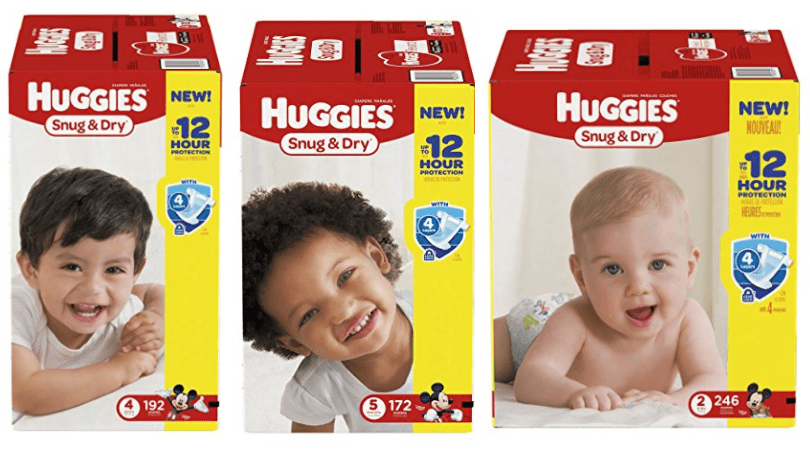 huggies diapers deal on amazon prime