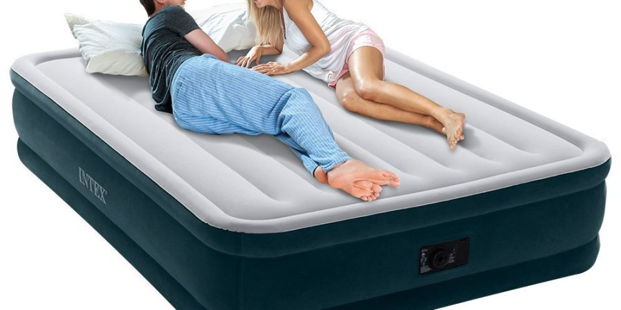intex air mattress deal of the day on amazon