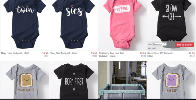 zulily deals on twins clothing