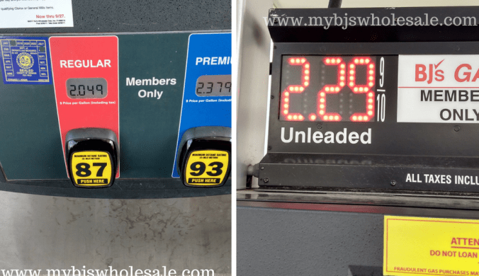 BJs gas savings promotion and coupons to use