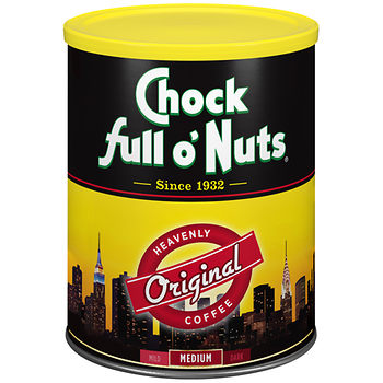 chock full o nuts coffee deal at BJs