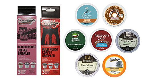 kcups sample pack on Amazon