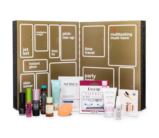 deal on a target beauty advent calendar