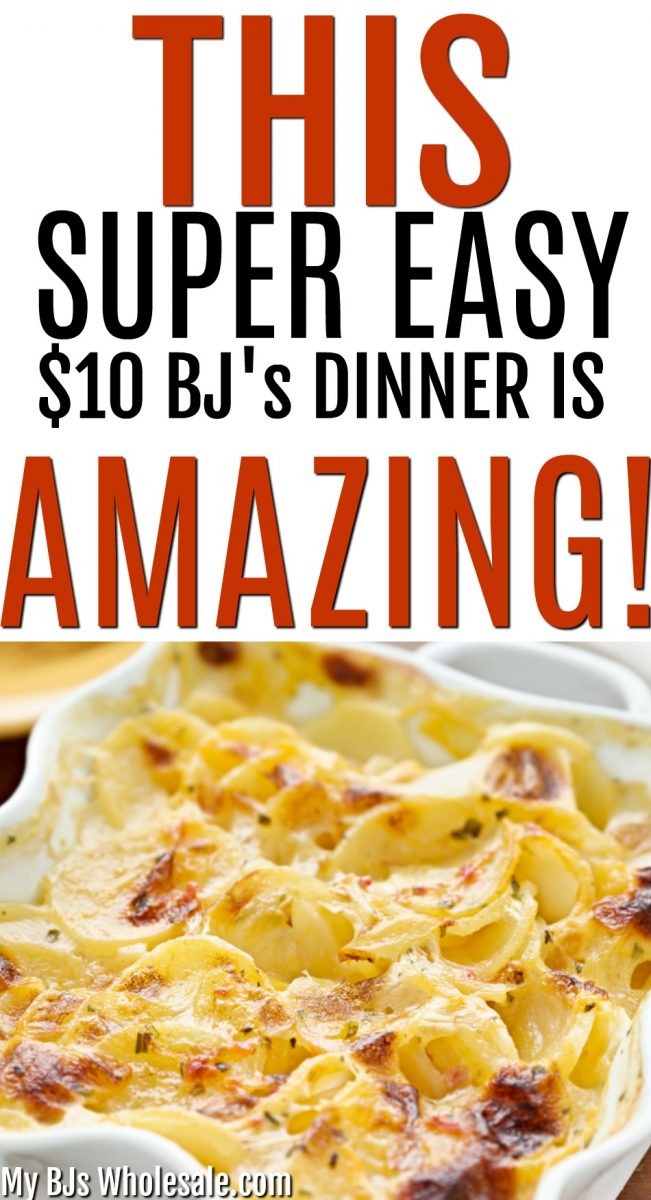 This $10 Quick, Easy and Delicious dinner from BJ's is a perfect go to on a busy night when you crave a comfort food. Even better BJ's Members can save with coupons. 