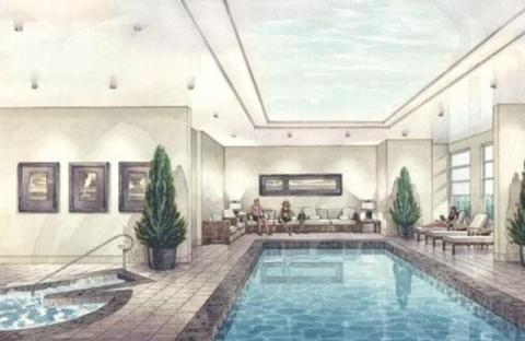 Bloor Street_pool rendering