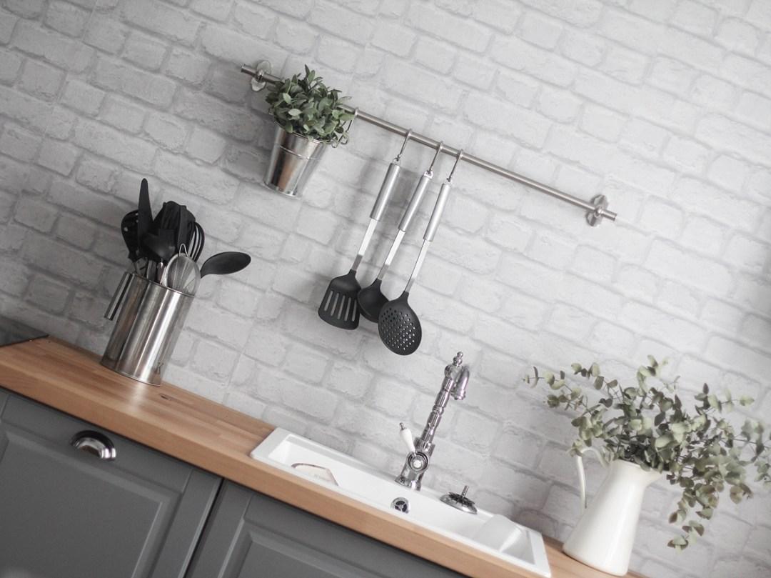 Mi cocina retro de ikea bodbyn gris for Ikea cocinas accesorios