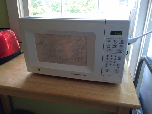 new microwave - it works