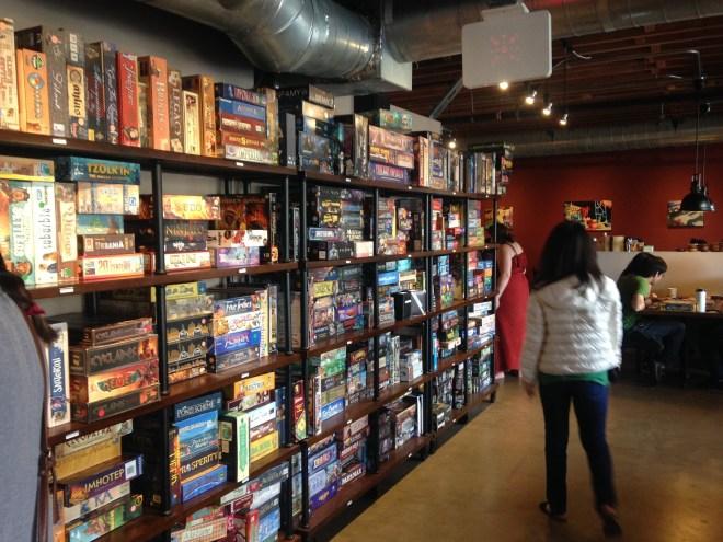 Gamehaus Shelves