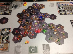 Eclipse Board Game in Office