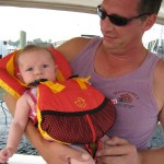 Infant Life Vests and Jackets for Boating