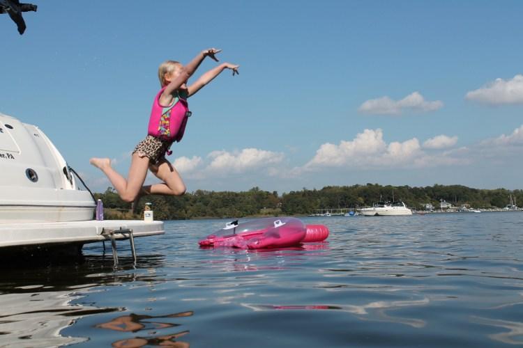 boat jump photo
