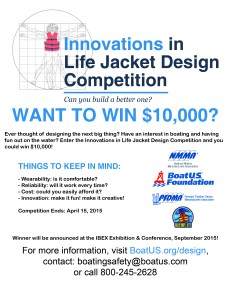 design better life jacket contest