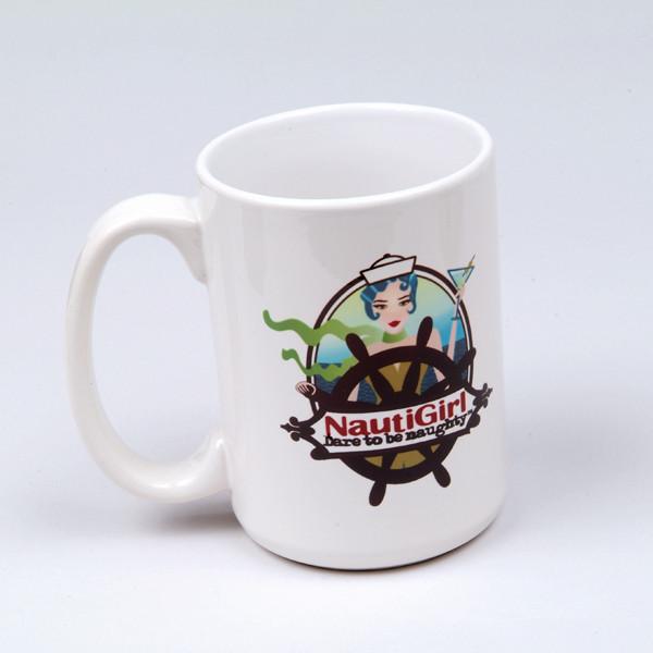 NautiGirl Coffee Mug Image