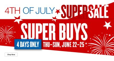 july 4 super sale