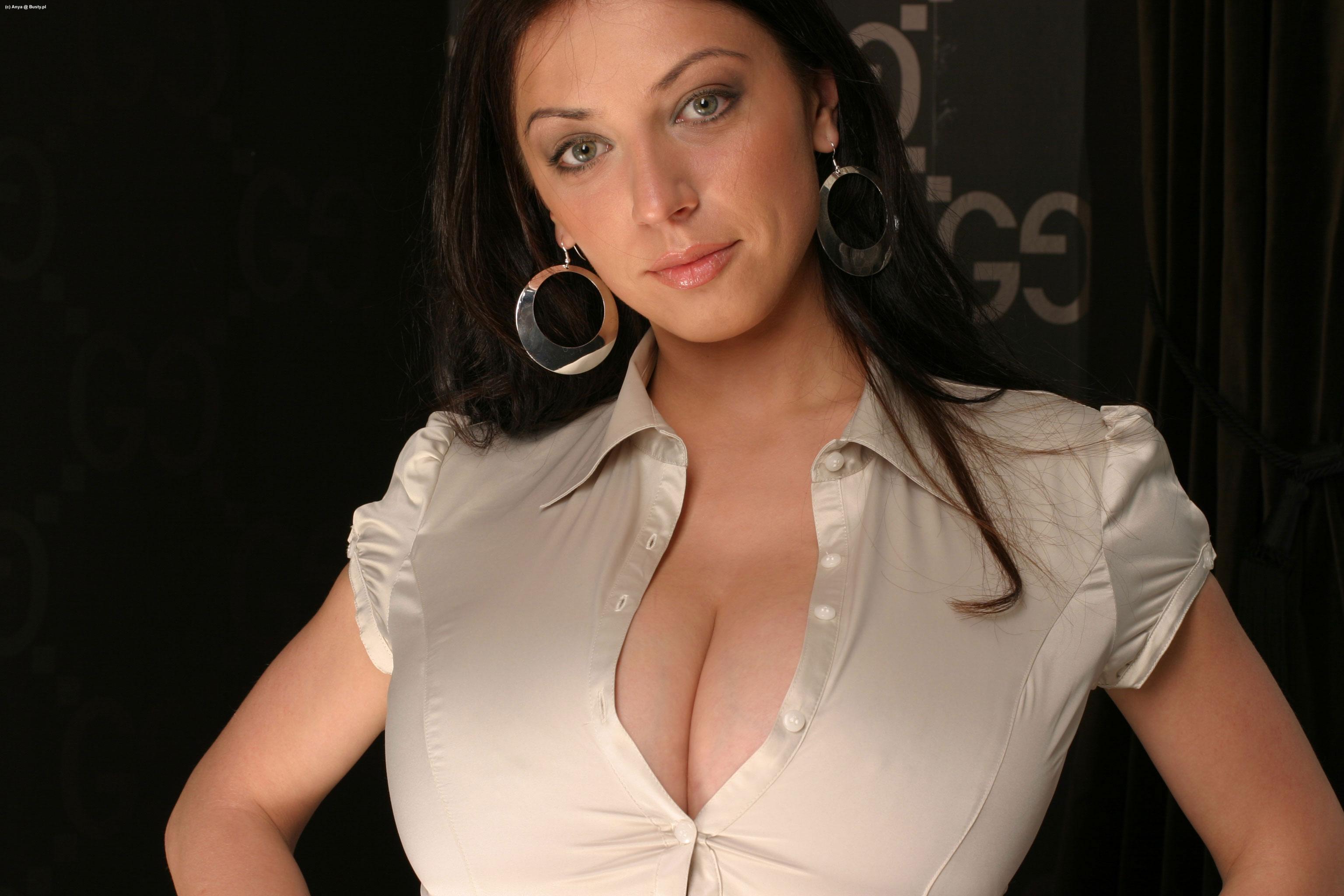 Tight blouse button pop