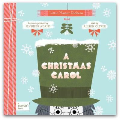 A Christmas Carol: BabyLit Colours Primer