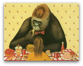 Gorilla by Anthony Browne -inside