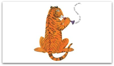 The Tiger Who Came to Tea by Judith Kerr - inside 2