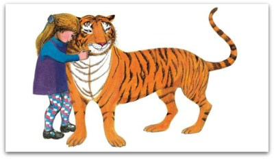 The Tiger Who Came to Tea by Judith Kerr - inside 3