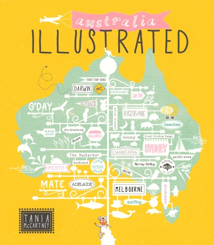 Australia Illustrated - Tania McCartney