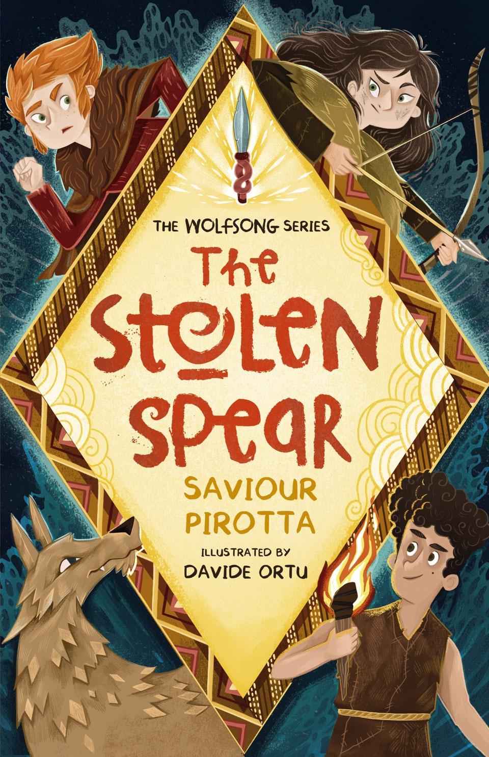 The Stolen Spear, Saviour Pirotta
