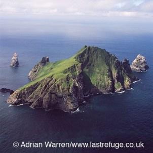 Unihabited St Kilda island