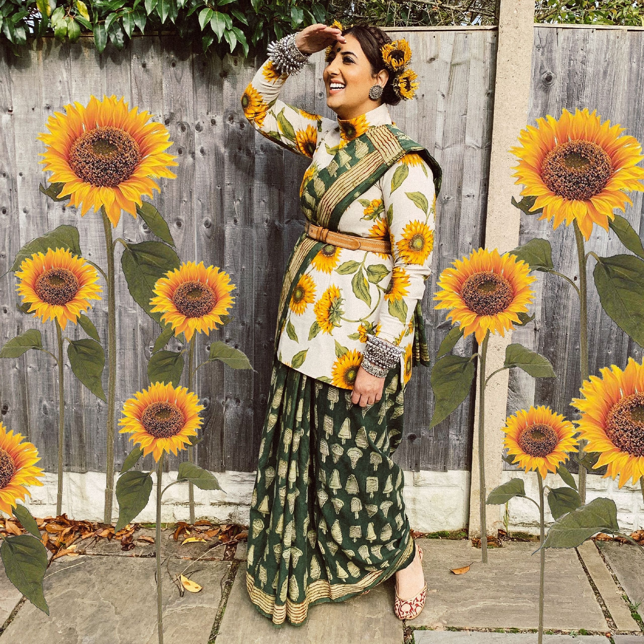 Sunflower Sisters By Monika Singh Gangotra