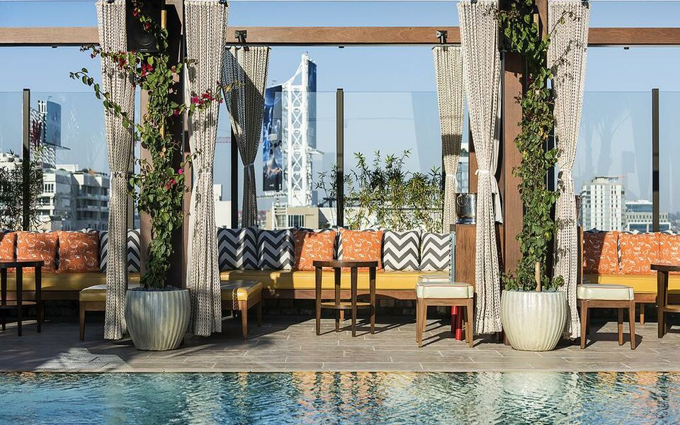 Dream Hollywood Los Angeles tatsUnis  My Boutique hotel