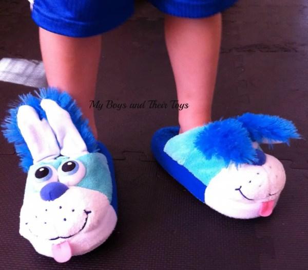 Blue Puppy Stompeez Slippers