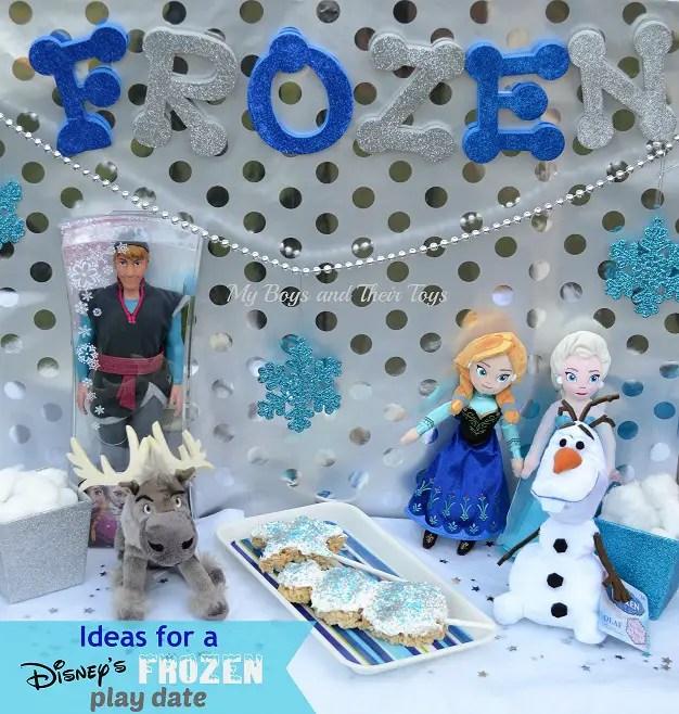 Frozen play date #FrozenFun #shop