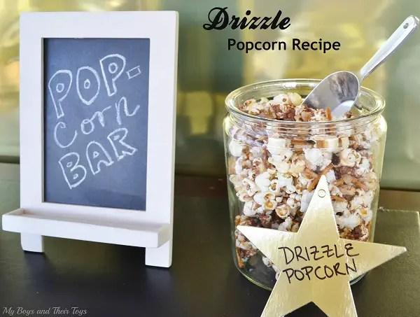 drizzle popcorn recipe
