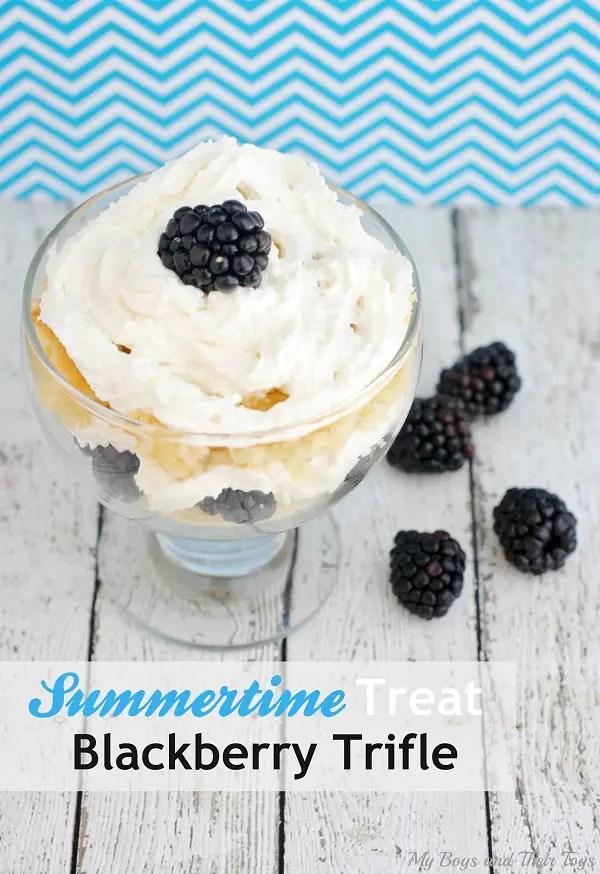 blackberry trifle