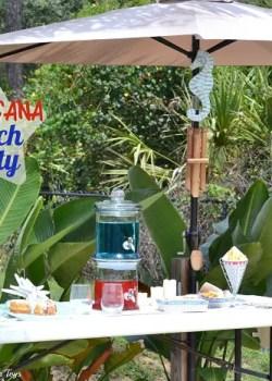Americana beach party ideas