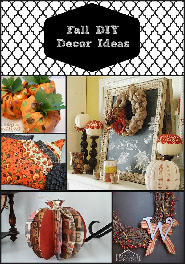 Diy fall decorating ideas my boys and their toys for Diy fall craft decorations