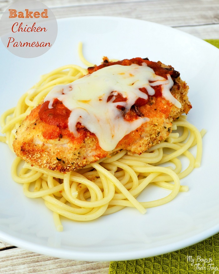 Baked Chicken Parmesan With NatureRaised Farms® Chicken