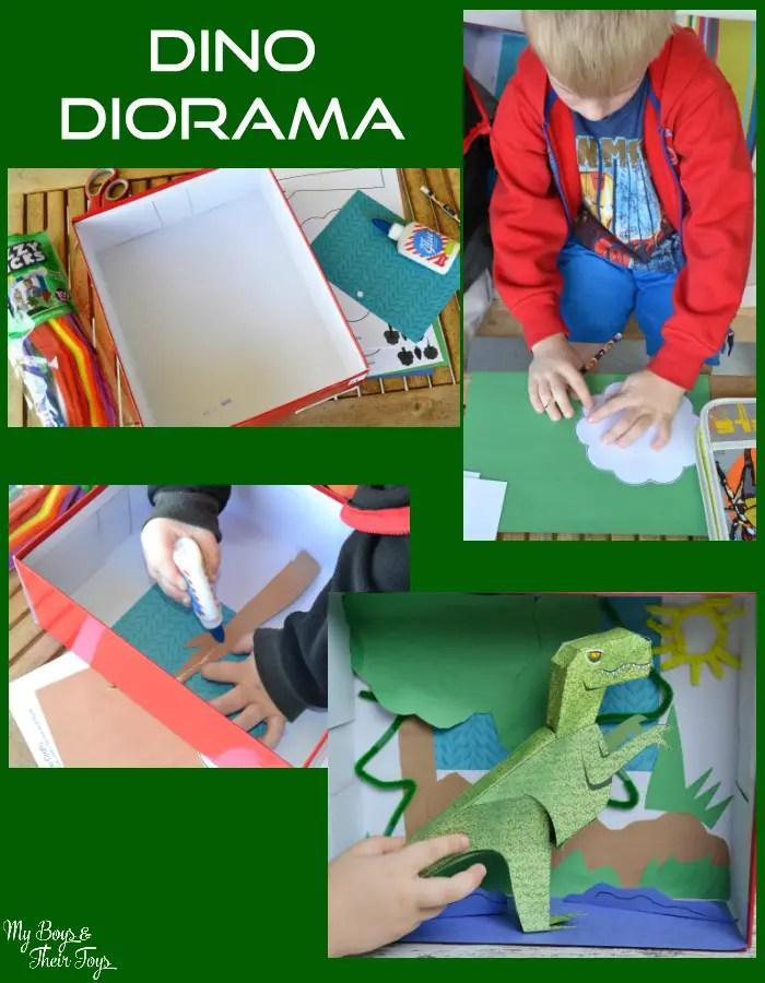 dino diorama