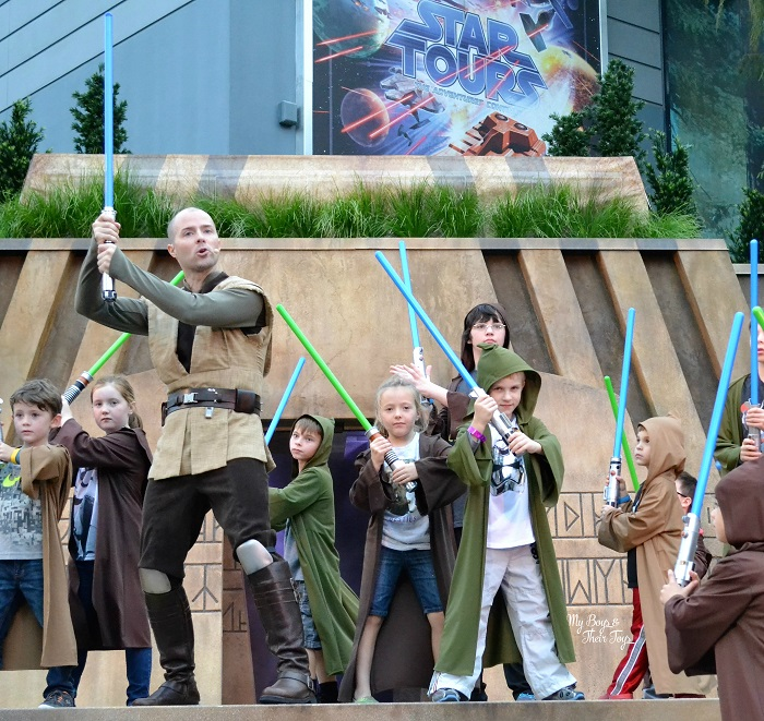 jedi training at Disney