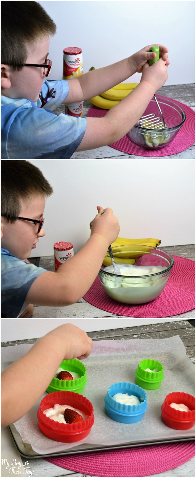 frozen yogurt directions