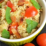 tomato and bacon couscous
