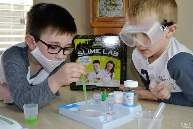 science slime lab