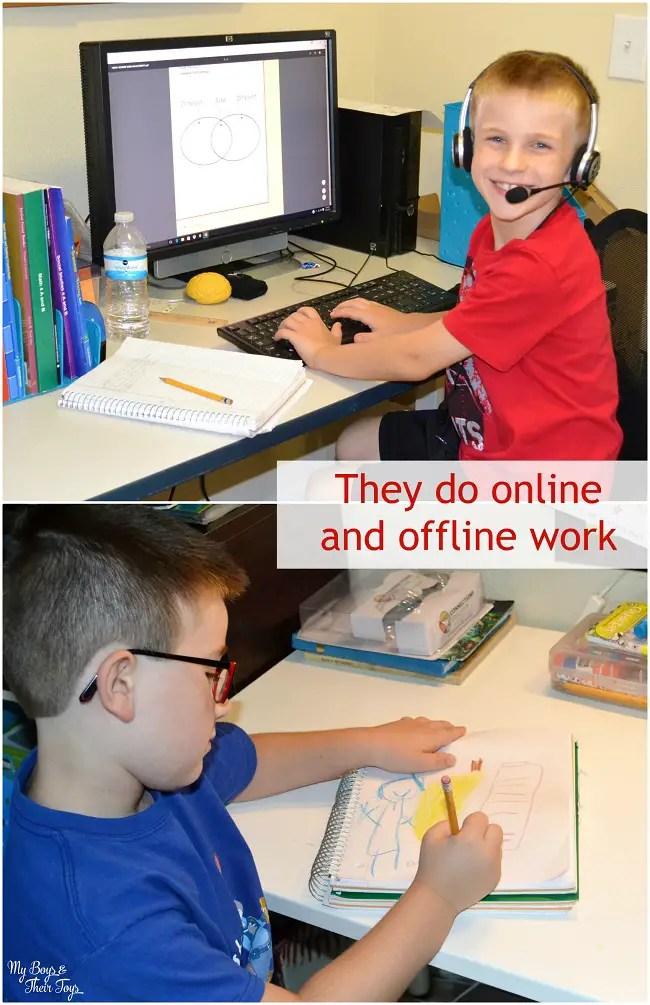 school work
