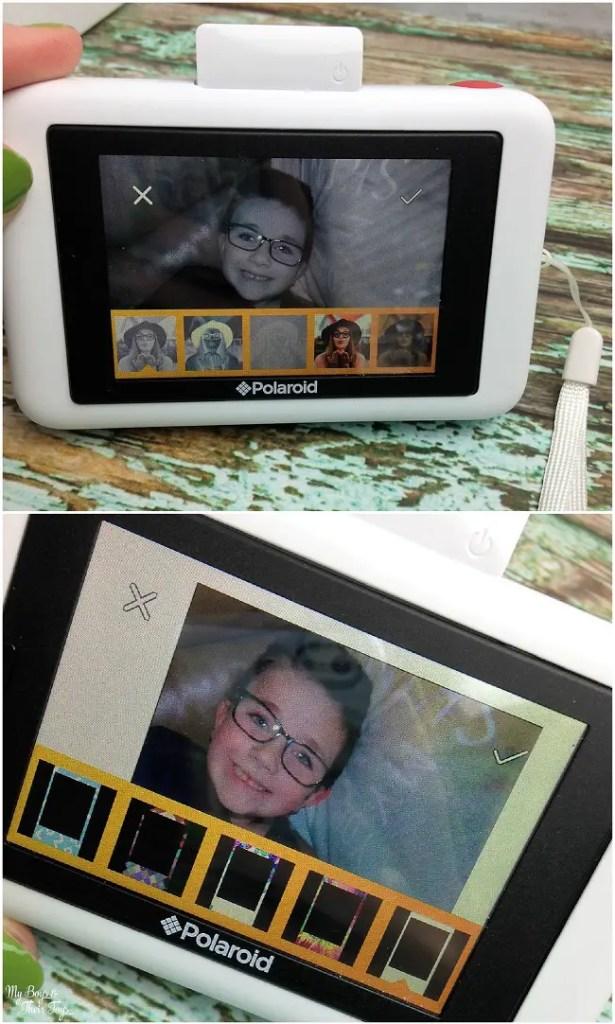 polaroid snap camera instant camera