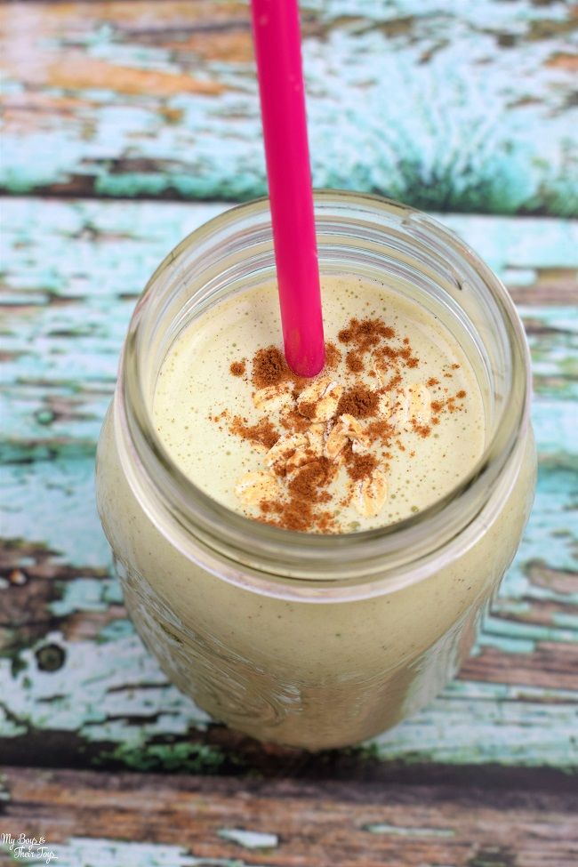 apple pie protein shake