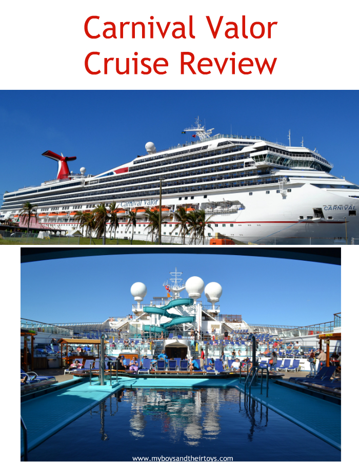 Carnival Valor Food Review