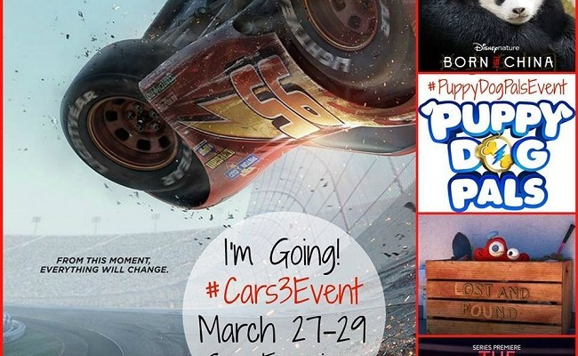 I'm Heading to San Francisco for the Cars 3 Pixar Event!
