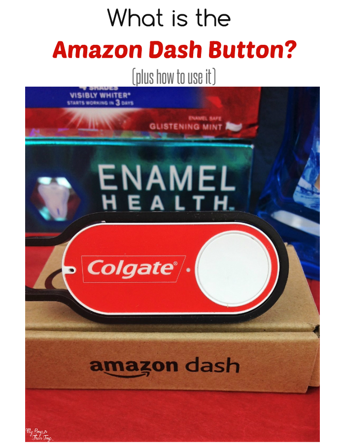 what is the amazon dash button